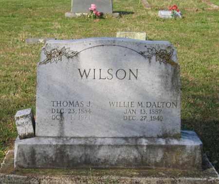 WILSON, WILLIE M. - Lawrence County, Arkansas | WILLIE M. WILSON - Arkansas Gravestone Photos