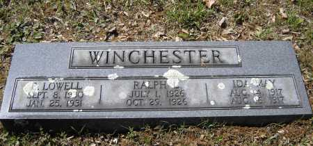 WINCHESTER, RALPH LESTER - Lawrence County, Arkansas | RALPH LESTER WINCHESTER - Arkansas Gravestone Photos