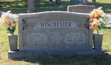 WINCHESTER, JOSEPH ERNEST - Lawrence County, Arkansas | JOSEPH ERNEST WINCHESTER - Arkansas Gravestone Photos