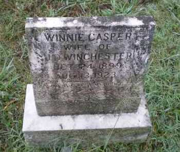 "WINCHESTER, WINIFRED J. ""WINNIE"" CASPER - Lawrence County, Arkansas 