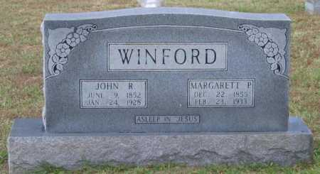 WINFORD, JOHN R. - Lawrence County, Arkansas | JOHN R. WINFORD - Arkansas Gravestone Photos