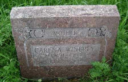 "WINFREY, CARENA ""REENA"" - Lawrence County, Arkansas   CARENA ""REENA"" WINFREY - Arkansas Gravestone Photos"