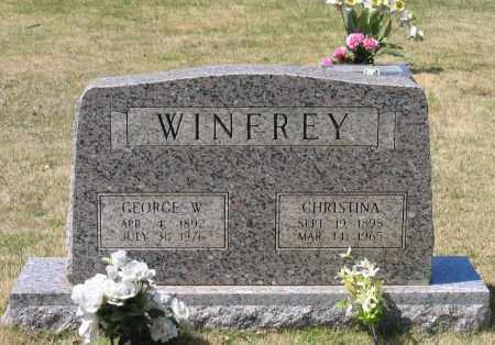 SIMON WINFREY, CHRISTINA - Lawrence County, Arkansas | CHRISTINA SIMON WINFREY - Arkansas Gravestone Photos