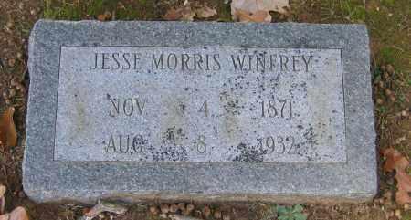 WINFREY, JESSE MORRIS - Lawrence County, Arkansas   JESSE MORRIS WINFREY - Arkansas Gravestone Photos