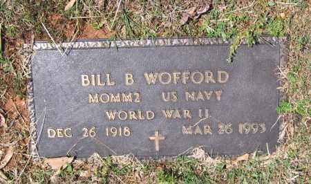 WOFFORD (VETERAN WWII), BILL BROYLES - Lawrence County, Arkansas   BILL BROYLES WOFFORD (VETERAN WWII) - Arkansas Gravestone Photos