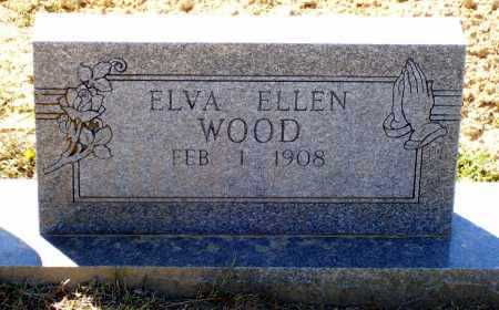WOOD, ELVA ELLEN - Lawrence County, Arkansas   ELVA ELLEN WOOD - Arkansas Gravestone Photos