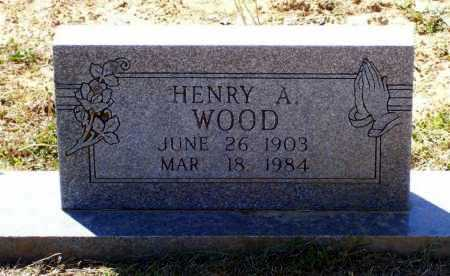 WOOD, HENRY A. - Lawrence County, Arkansas | HENRY A. WOOD - Arkansas Gravestone Photos