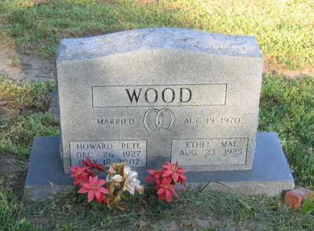 "WOOD, HOWARD BRYAN ""PETE"" - Lawrence County, Arkansas | HOWARD BRYAN ""PETE"" WOOD - Arkansas Gravestone Photos"