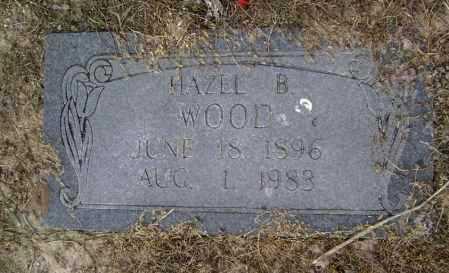 WOOD, HAZEL B. - Lawrence County, Arkansas | HAZEL B. WOOD - Arkansas Gravestone Photos