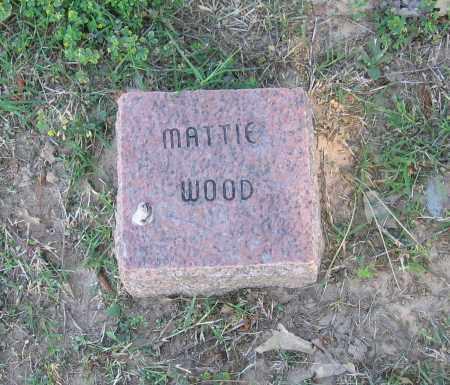 WOOD, MATTIE - Lawrence County, Arkansas | MATTIE WOOD - Arkansas Gravestone Photos