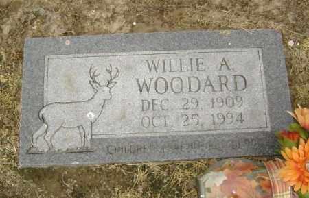 WOODARD, WILLIE A. - Lawrence County, Arkansas   WILLIE A. WOODARD - Arkansas Gravestone Photos