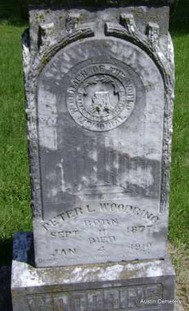 WOODRING, PETER L. - Lawrence County, Arkansas   PETER L. WOODRING - Arkansas Gravestone Photos