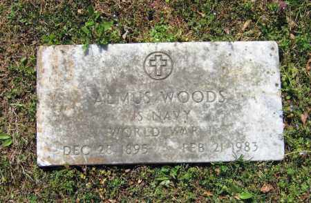 WOODS (VETERAN WWI), ALMUS - Lawrence County, Arkansas | ALMUS WOODS (VETERAN WWI) - Arkansas Gravestone Photos