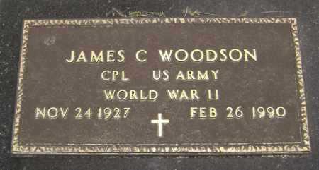 WOODSON  (VETERAN WWII), JAMES CARROLL - Lawrence County, Arkansas | JAMES CARROLL WOODSON  (VETERAN WWII) - Arkansas Gravestone Photos