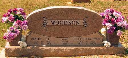 TYREE WOODSON, CORA OLETA - Lawrence County, Arkansas | CORA OLETA TYREE WOODSON - Arkansas Gravestone Photos