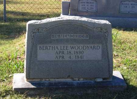 WOODYARD, BERTHA LEE - Lawrence County, Arkansas | BERTHA LEE WOODYARD - Arkansas Gravestone Photos