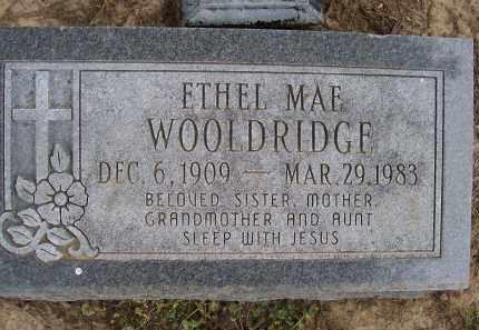 WOOLDRIDGE, ETHEL MAE - Lawrence County, Arkansas | ETHEL MAE WOOLDRIDGE - Arkansas Gravestone Photos