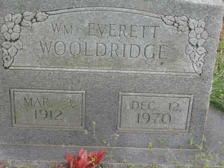 WOOLDRIDGE, WILLIAM EVERETT - Lawrence County, Arkansas | WILLIAM EVERETT WOOLDRIDGE - Arkansas Gravestone Photos