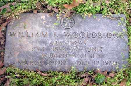 WOOLDRIDGE (VETERAN WWII), WILLIAM EVERETT - Lawrence County, Arkansas   WILLIAM EVERETT WOOLDRIDGE (VETERAN WWII) - Arkansas Gravestone Photos