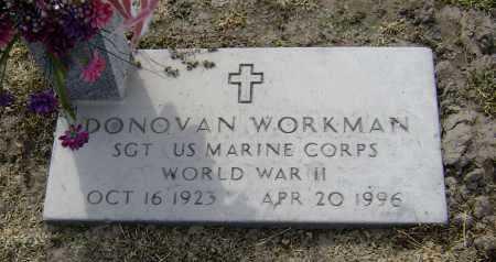 WORKMAN  (VETERAN WWII), DONOVAN - Lawrence County, Arkansas | DONOVAN WORKMAN  (VETERAN WWII) - Arkansas Gravestone Photos