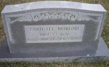 WORLOW, CORA LEE - Lawrence County, Arkansas   CORA LEE WORLOW - Arkansas Gravestone Photos