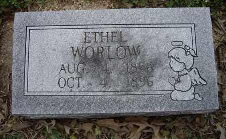 WORLOW, ETHEL - Lawrence County, Arkansas   ETHEL WORLOW - Arkansas Gravestone Photos
