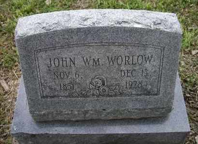 WORLOW, JOHN WILLIAM - Lawrence County, Arkansas | JOHN WILLIAM WORLOW - Arkansas Gravestone Photos