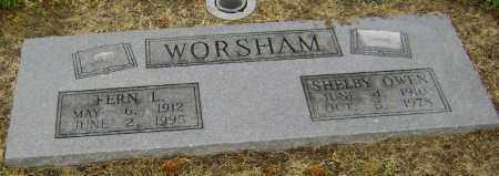 WORSHAM, FERN L. - Lawrence County, Arkansas | FERN L. WORSHAM - Arkansas Gravestone Photos