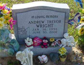 """WRIGHT, ANDREW TREVOR """"ANDY"""" - Lawrence County, Arkansas 