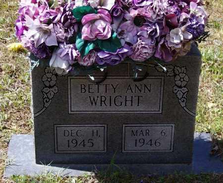 WRIGHT, BETTY ANN - Lawrence County, Arkansas   BETTY ANN WRIGHT - Arkansas Gravestone Photos