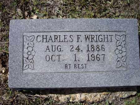 WRIGHT, CHARLES F. - Lawrence County, Arkansas | CHARLES F. WRIGHT - Arkansas Gravestone Photos