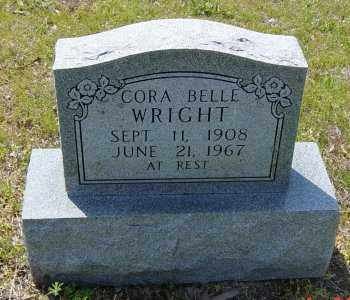 WRIGHT, CORA BELLE - Lawrence County, Arkansas | CORA BELLE WRIGHT - Arkansas Gravestone Photos