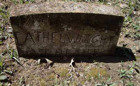 WRIGHT, EATHEL - Lawrence County, Arkansas | EATHEL WRIGHT - Arkansas Gravestone Photos