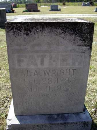 "WRIGHT, JAMES ARTHUR ""J. A."" - Lawrence County, Arkansas   JAMES ARTHUR ""J. A."" WRIGHT - Arkansas Gravestone Photos"