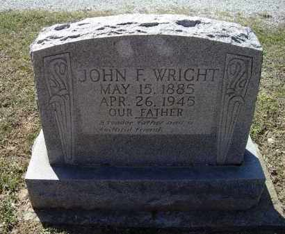 WRIGHT, JOHN FRANKLIN - Lawrence County, Arkansas | JOHN FRANKLIN WRIGHT - Arkansas Gravestone Photos