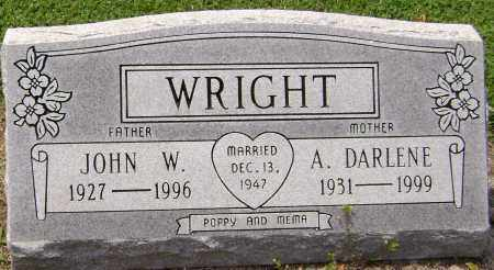 WRIGHT, JOHN W - Lawrence County, Arkansas | JOHN W WRIGHT - Arkansas Gravestone Photos
