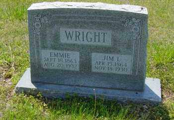 ERWIN WRIGHT, EMMIE - Lawrence County, Arkansas | EMMIE ERWIN WRIGHT - Arkansas Gravestone Photos