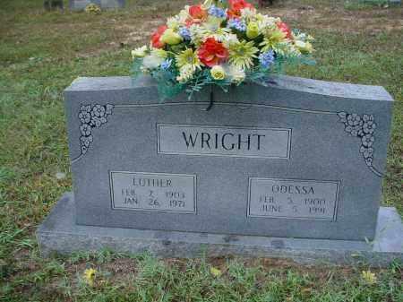 LAWSON WRIGHT, ELVA ODESSA - Lawrence County, Arkansas | ELVA ODESSA LAWSON WRIGHT - Arkansas Gravestone Photos