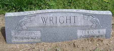WRIGHT, LEWIS WILLIAM - Lawrence County, Arkansas | LEWIS WILLIAM WRIGHT - Arkansas Gravestone Photos