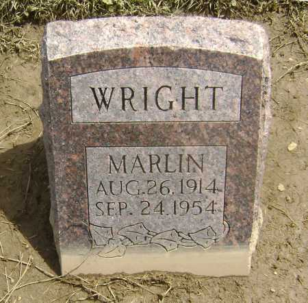 WRIGHT, MARLIN - Lawrence County, Arkansas | MARLIN WRIGHT - Arkansas Gravestone Photos