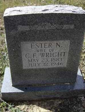 LAIRD WRIGHT, NANCY ESTER - Lawrence County, Arkansas | NANCY ESTER LAIRD WRIGHT - Arkansas Gravestone Photos