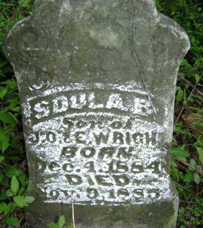 WRIGHT, SOULA B. - Lawrence County, Arkansas | SOULA B. WRIGHT - Arkansas Gravestone Photos