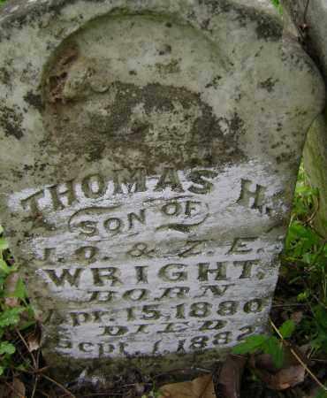 WRIGHT, THOMAS H. - Lawrence County, Arkansas   THOMAS H. WRIGHT - Arkansas Gravestone Photos