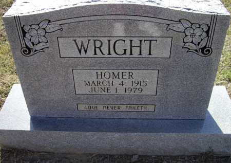 WRIGHT, THOMAS HOMER - Lawrence County, Arkansas   THOMAS HOMER WRIGHT - Arkansas Gravestone Photos