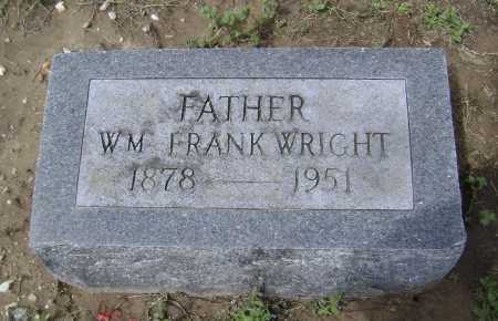 WRIGHT, WILLIAM FRANK - Lawrence County, Arkansas | WILLIAM FRANK WRIGHT - Arkansas Gravestone Photos
