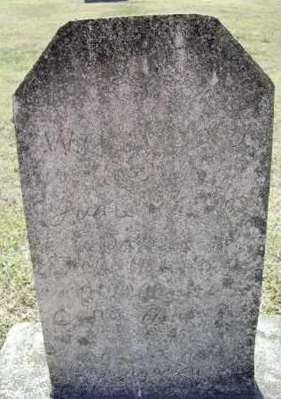 WRIGHT, W. OTTIS - Lawrence County, Arkansas | W. OTTIS WRIGHT - Arkansas Gravestone Photos