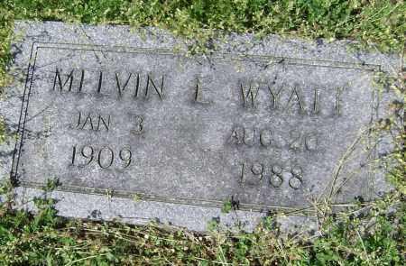 WYATT, MELVIN L - Lawrence County, Arkansas | MELVIN L WYATT - Arkansas Gravestone Photos