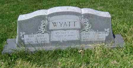 WYATT, IDA MAY - Lawrence County, Arkansas   IDA MAY WYATT - Arkansas Gravestone Photos
