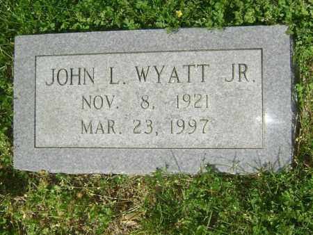 WYATT, JOHN L. JR - Lawrence County, Arkansas | JOHN L. JR WYATT - Arkansas Gravestone Photos