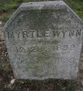 WYNN, MYRTLE - Lawrence County, Arkansas   MYRTLE WYNN - Arkansas Gravestone Photos